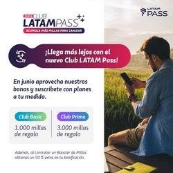 Catálogo Latam Airlines ( Más de un mes)