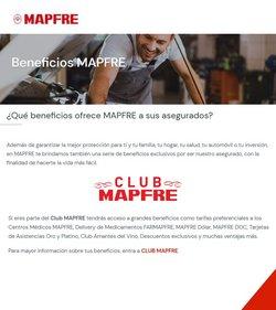 Ofertas de Bancos y seguros en el catálogo de Mapfre ( 2 días publicado)