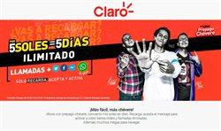 Ofertas de Claro  en el folleto de Lima