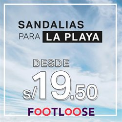 Ofertas de Footloose  en el folleto de Arequipa