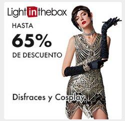Ofertas de Tiendas por departamento en el catálogo de LightInTheBox ( 7 días más)