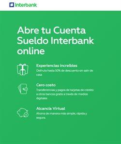 Ofertas de Banco en Interbank