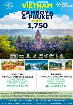 Ofertas de Viajes y ocio en el catálogo de Viajes Beauce ( 25 días más)