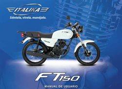 Catálogo Italika ( Más de un mes )
