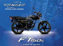 Ofertas de Coche, moto y recambios en el catálogo de Italika en Lima ( Más de un mes )