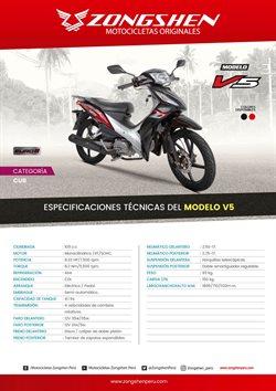 Catálogo Zongshen en Huancayo ( Más de un mes )