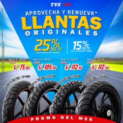 Ofertas de Apache  en el folleto de Lima