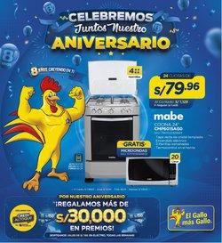 Ofertas de Tecnología y Electrónica en el catálogo de El Gallo Más Gallo ( 10 días más)