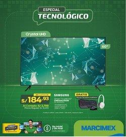 Ofertas de Tecnología y Electrónica en el catálogo de Marcimex ( 6 días más)