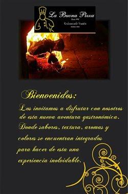 Ofertas de La Buona Pizza  en el folleto de Huaraz