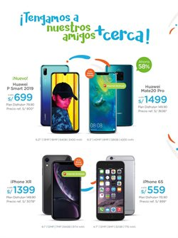 Ofertas de IPhone  en el folleto de Sitel en Lima