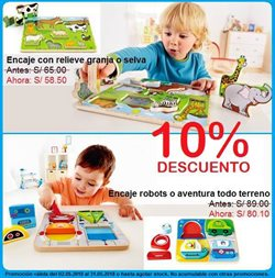 Ofertas de Puzzle  en el folleto de Kiddy's House en Lima