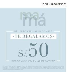 Ofertas de Maquillaje  en el folleto de Philosophy en Piura
