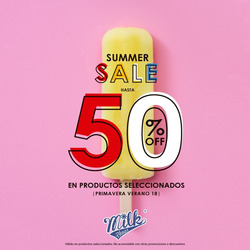 Ofertas de Milk Blues  en el folleto de Lima