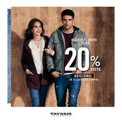 Ofertas de Tayssir  en el folleto de Lima