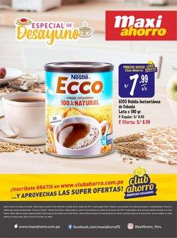 Catálogo MaxiAhorro ( 8 días más)