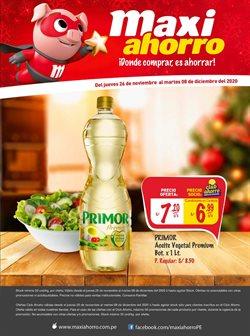 Catálogo MaxiAhorro en Huacho ( Publicado hoy )