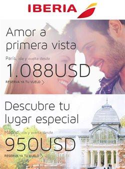 Ofertas de Viajes y ocio  en el folleto de Iberia en Lima