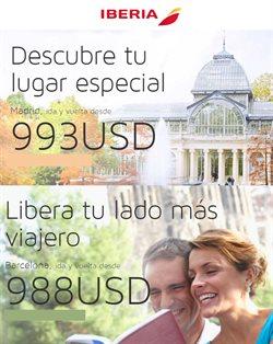Ofertas de Iberia  en el folleto de Lima