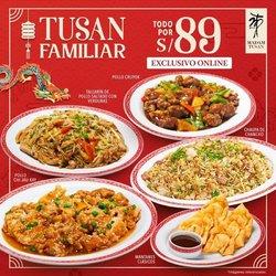 Ofertas de Restaurantes en el catálogo de Madam Tusan ( 3 días más)