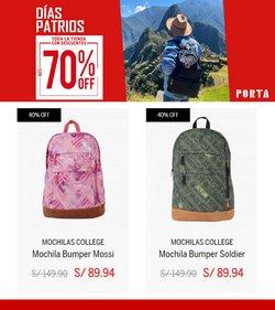 Ofertas de Ropa, zapatos y complementos en el catálogo de Porta ( Vence hoy)
