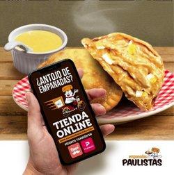 Ofertas de Restaurantes en el catálogo de Empanadas Paulistas ( Vence mañana)