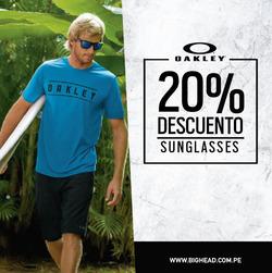 Ofertas de Oakley  en el folleto de Lima