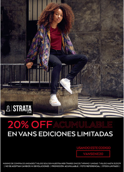 Ofertas de Strata  en el folleto de Lima