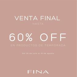 Ofertas de Fina Perú  en el folleto de Lima