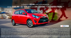 Cupón Toyota en Huancayo ( 2 días más )