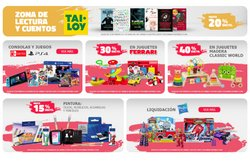 Ofertas de mochilas escolares en el catálogo de Tai Loy ( 2 días más)
