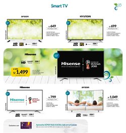 Ofertas de Smart tv  en el folleto de La Curacao en Piura