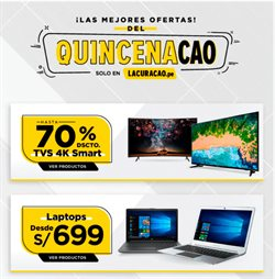 Ofertas de Smart tv  en el folleto de La Curacao en Lima