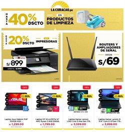 Ofertas de Tecnología y Electrónica en el catálogo de La Curacao en Trujillo ( Caduca hoy )