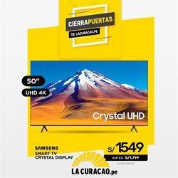 Ofertas de Tecnología y Electrónica en el catálogo de La Curacao en Arequipa ( Publicado hoy )