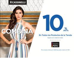 Ofertas de Cassinelli  en el folleto de Lima