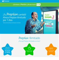 Ofertas de Movistar  en el folleto de Lima