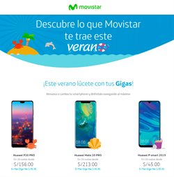 Ofertas de Smart  en el folleto de Movistar en Lima