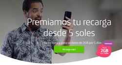 Ofertas de Movistar  en el folleto de Lima