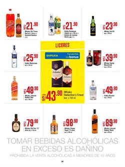 Ofertas de Johnnie Walker  en el folleto de Metro en Lima