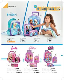 Ofertas de Disney  en el folleto de Paris en Lima