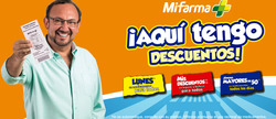 Ofertas de Mifarma  en el folleto de Lima