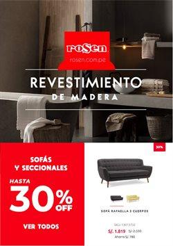 Ofertas de Hogar y muebles en el catálogo de Rosen en Lima ( 2 días publicado )