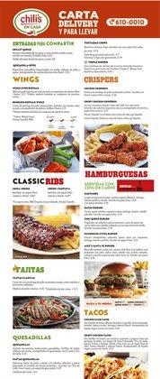 Catálogo Chilis ( Más de un mes)