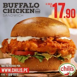 Ofertas de Restaurantes en el catálogo de Chilis ( Vence mañana)