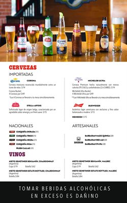 Ofertas de Cerveza en Chilis