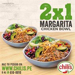 Ofertas de Restaurantes en el catálogo de Chilis en Huacho ( Más de un mes )