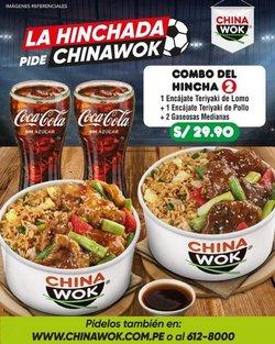 Ofertas de Restaurantes en el catálogo de China Wok ( Publicado hoy)