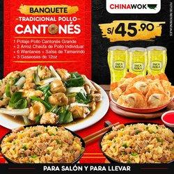 Catálogo China Wok ( 10 días más)