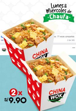 Ofertas de China Wok  en el folleto de Lima